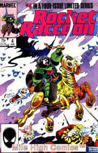 ROCKET RACCOON  (1985 Series)  (MARVEL) #4 Very Good Comics Book