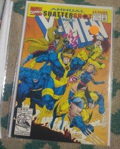 X MEN ANNUAL  # 1 1992, Marvel  SHATTERSHOT PT 1 ROGUE GAMBIT WOLVERINE PSYLOCKE