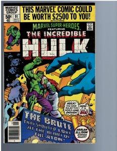 Marvel Super-Heroes #91 (1980)