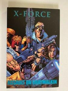 X-Force Assault on Graymalkin HC 8.0 VF no cellophane (2013)