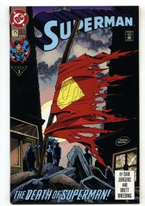 SUPERMAN #75-DEATH OF SUPERMAN- 3rd printing NM-