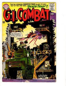 G.I. Combat # 111 VG/FN DC Comic Book 1965 Haunted Tank Army Navy Marines J305
