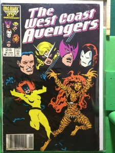 The West Coast Avengers #16