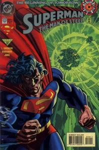 SUPERMAN: MAN OF STEEL (1991 DC Comics) #0 NM