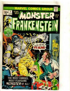 Monster Of Frankenstein # 1 VF Marvel Comic Book Mike Ploog Cover Art Horror RS1
