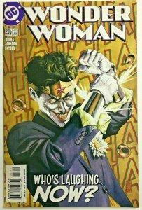 WONDER WOMAN#205 VF/NM 2004 JOKER COVER DC COMICS