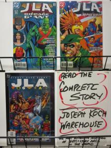 JLA 80 PAGE GIANT (1998) 1-3  SLINGS & ARROWS LIKES IT!