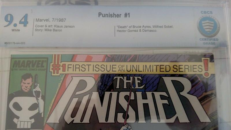 Punisher #1 (Jul 87, DC) CBCS 9.4