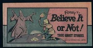 MINI COMIC 1976 RIPLEYs BELIEVE IT OR NOT GHOST #1
