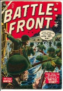 Battle-Front #27 1955-Atlas-Russ Heath-Gene Colon-Wake Island WWII story-Dick...