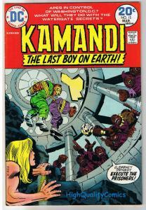 KAMANDI #15, VF, Jack Kirby, Last Boy on Earth, 1972, VFN, more in store