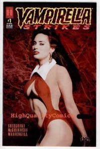 VAMPIRELLA STRIKES 1, NM, Femme Fatale, Photo cover, 1995,  Vampire