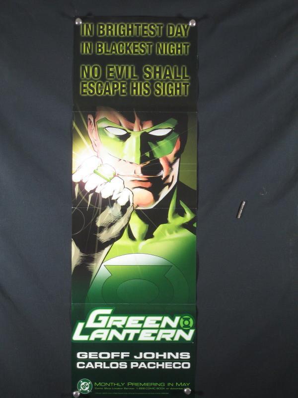 Green Lantern DC Comics Promo Poster 2005 34x11