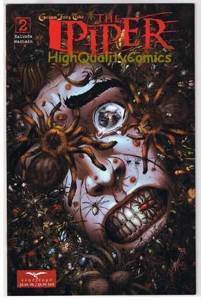The PIPER #2, NM+, Grimm fairy tales, Tarantulas, 2008, more GFT in store