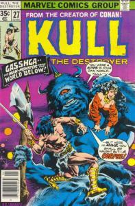 Kull the Destroyer #27 FN; Marvel | save on shipping - details inside