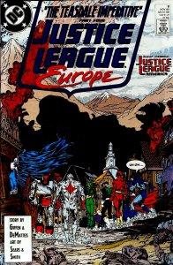 Justice League Europe #8 (1989)