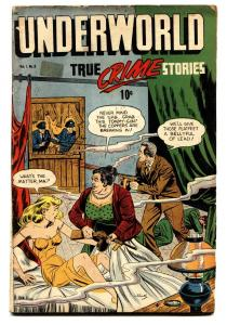Underworld Comics #2 1948 Ma Barker-SOTI-Female electric chair story!
