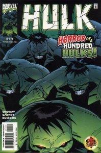 INCREDIBLE HULK (1999 Marvel Comics) #11 NM-