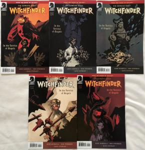 WITCHFINDER : IN THE SERVICE OF ANGELS - COMPLETE MINI SERIES - #1, 2, 3, 4, 5