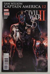 Sam Wilson Captain America #12 Marvel 2016
