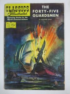 CLASSIC ILLUSTRATED #113 (G-VG) 45 GUARDSMEN (1ST Edition, HRO=114) Nov 1953