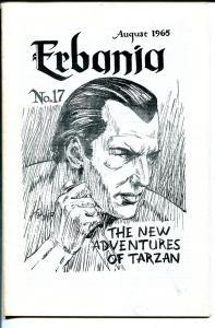 Erbania #17 1965-Peter Ogden-Edgar Rice Burroughs-Tarzan-fanzine-FN