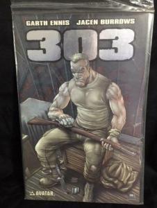303 #4, NM, Garth Ennis, Burrows, Rifle, Avatar, 2004 2005, Platinum, COA