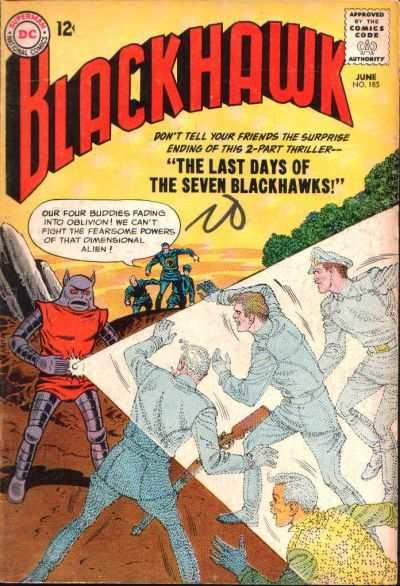 Blackhawk (1944 series) #185, VG- (Stock photo)