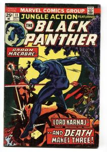 JUNGLE ACTION #11 1974 BLACK PANTHER - comic book FN/VF