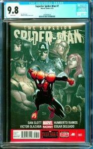 Surperior Spider-Man #7 CGC Graded 9.8