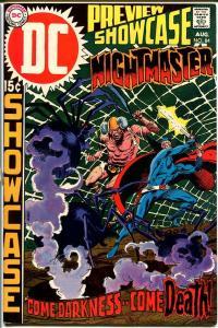 SHOWCASE #84-NIGHTMASTER-KUBERT-WRIGHTSON-DC FN/VF
