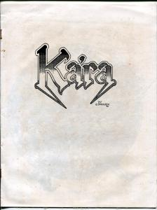 Ka'ra 1992-Pat Broderick art zine-rart prints for sale-G/VG