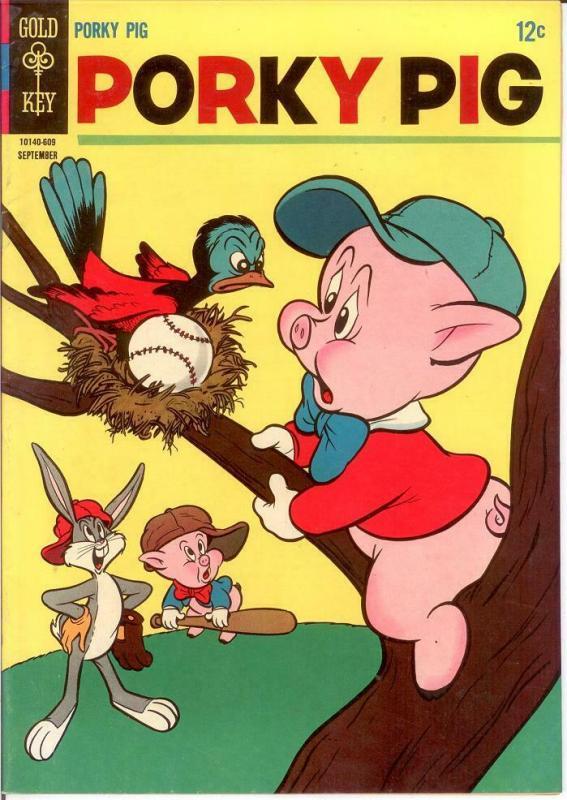 PORKY PIG (1965-1984 GK) 8 VF Sept. 1966 COMICS BOOK