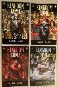 Kingdom Come set:#1-4 8.0 VF (1996)