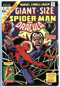GIANT-SIZE SPIDER-MAN #1 comic book 1974 Marvel Dracula VF+