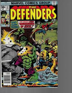 Defenders #42 (Marvel, 1976) VF+