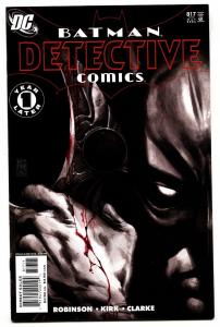 Detective Comics #817 1st appearance of Tally Man - DC comic book