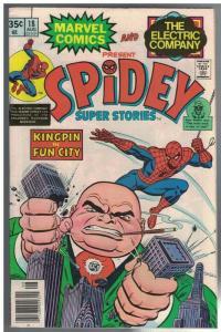 SPIDEY SUPER STORIES 18 VG-F Aug. 1976