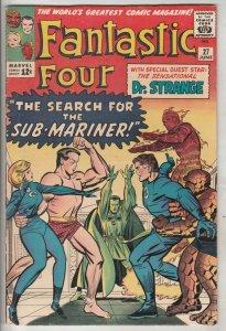 Fantastic Four #27 (Jun-65) FN/VF+ High-Grade Fantastic Four, Mr. Fantastic (...