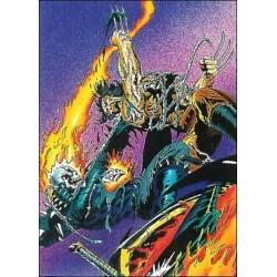1992 Wolverine: From Then 'Til Now: Series 2 GHOST RIDER #85