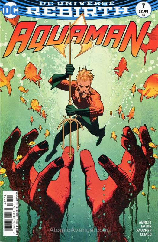 Aquaman (8th Series) #7A VF/NM; DC | save on shipping - details inside