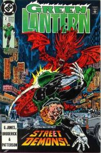 Green Lantern (1990 series) #2, VF (Stock photo)