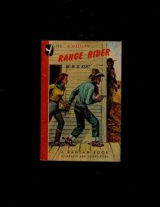 3 Pocket Books Range Rider, Red Driver, Benefit Performance JL6