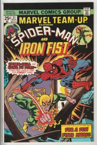 Marvel Team-Up #31 (Mar-74) NM- High-Grade Spider-Man