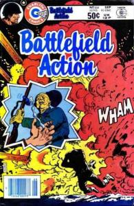Battlefield Action #64 FN; Charlton | save on shipping - details inside