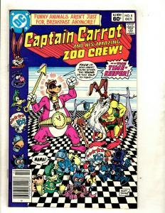 11 DC Comics Captain Carrot # 8 16 17 18 (2) 19 + Arion # 6 27 (2) 28 30 WS14