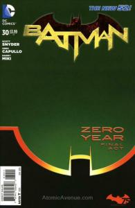 Batman (2nd Series) #30 FN; DC   save on shipping - details inside