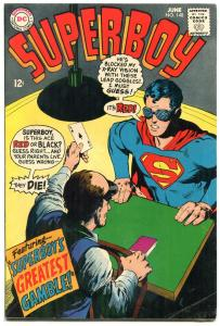 SUPERBOY #148 19687-DC COMICS-ACE OF SPADES COVER CARDS FN-