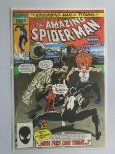 Amazing Spider-Man #283 Direct edition 8.0 VF (1986 1st Series)