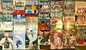 LUCIFER#4-74 VF/NM LOT 2000 (50 BOOKS) DC/VERTIGO COMICS